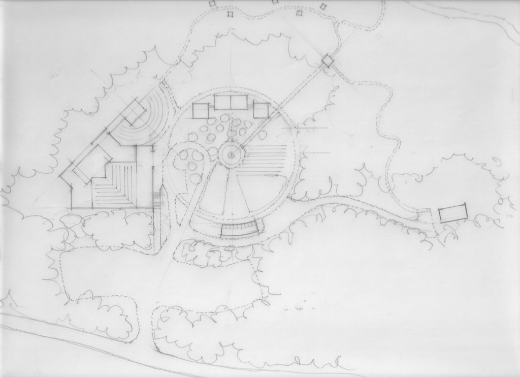 Preliminary drawing by local sustainable designer and builder Noah Grunberg, Noble Home.