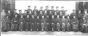 Ridgefield High Class of '34 who held a mock trial of Adolf Hitler