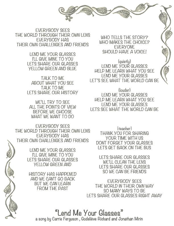 glasse lyrics