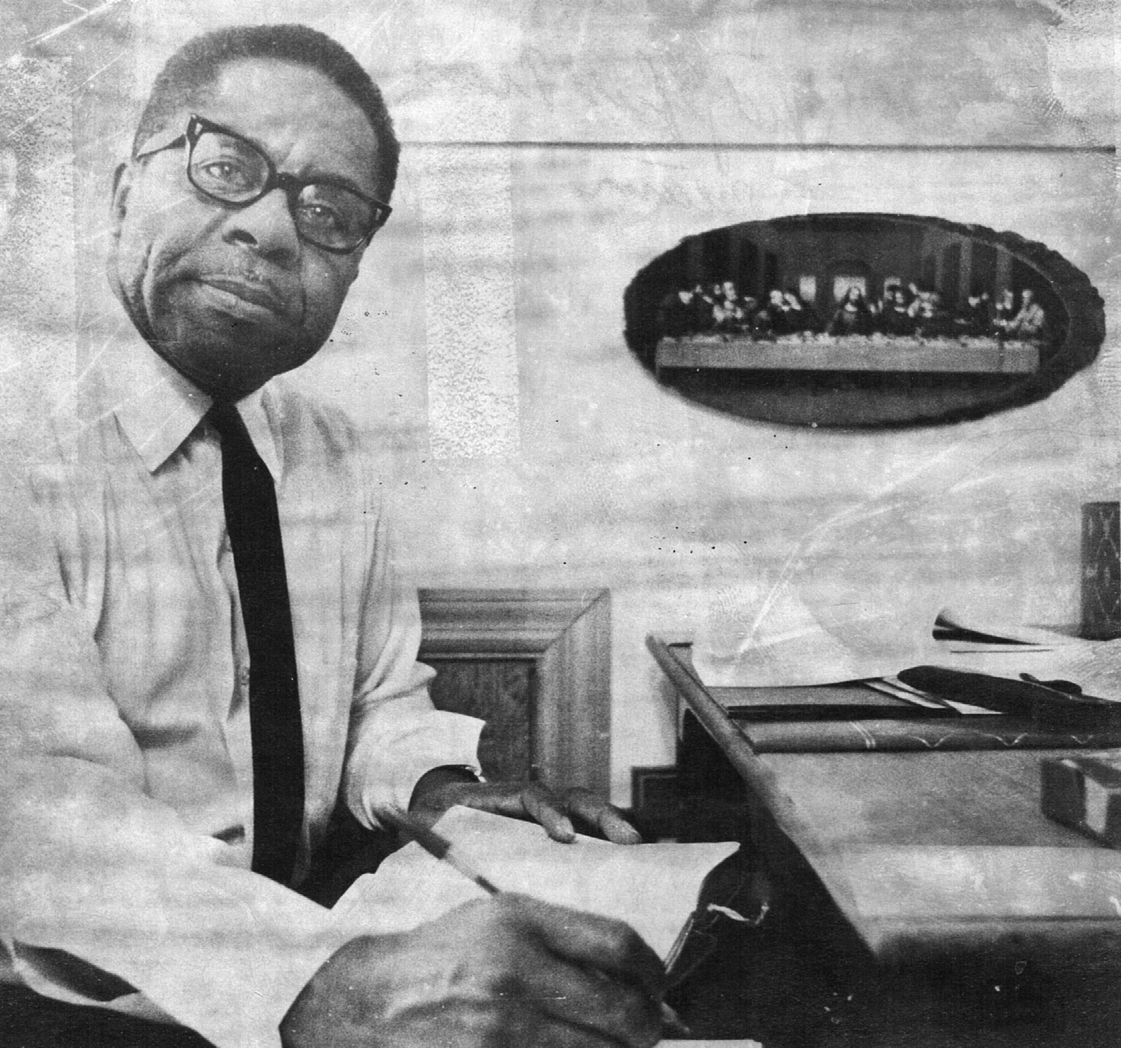 William Webb, who founded Ridgefield CT's NAACP chapter in the 1950's.